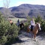 Tutti i giorni su prenotazione passeggiata di due ore a cavallo nei dintorni di Norcia