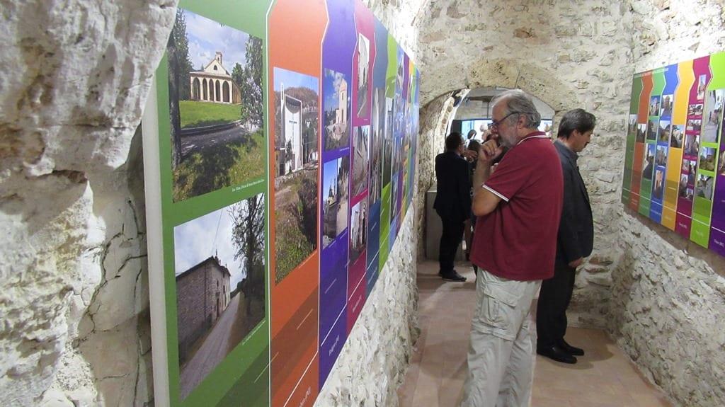 Scheggino, Montefalco, Spoleto, Trevi e i capolavori del 300